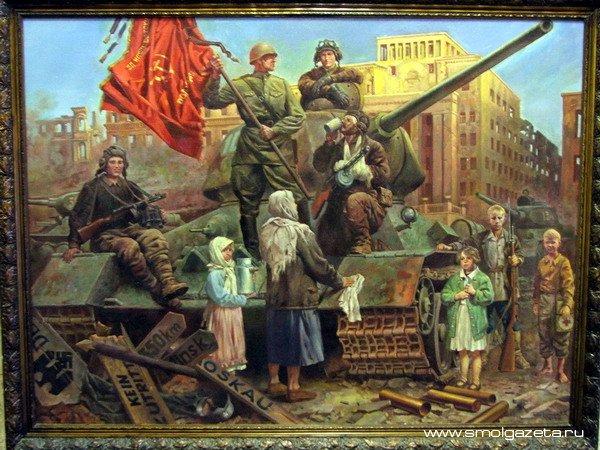 В Смоленске открылась выставка памяти художника Кирилла Тимошенкова