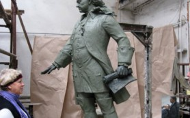 Основавшему Гжатскую пристань Петру I поставят памятник в Гагарине