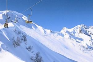 В горах Сочи уже выпал снег