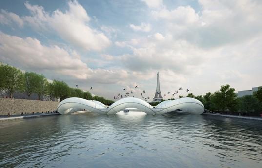 Мост-батут могут построить в Париже
