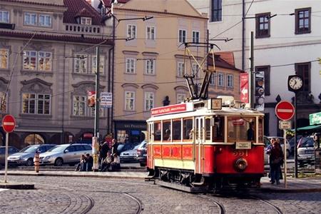 В Праге запустят исторический трамвай