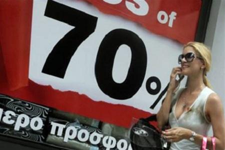 Распродажи в Греции — четырежды в год