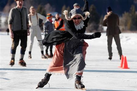 Необычные места для катания на коньках в Финляндии