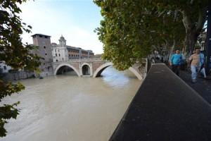 Наводнение добралось до Рима