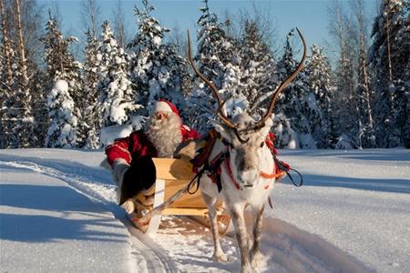 В Рованиеми пройдет парад Санта-Клауса
