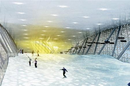 В Дании будет построен крытый горнолыжный центр