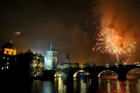 Власти Праги решили перенести новогодний салют