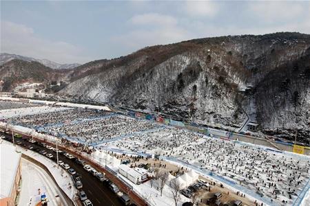 Зимняя Корея ждет любителей снега и рыбалки