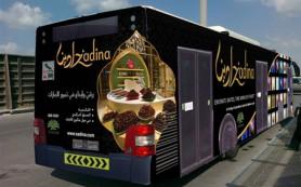 По Дубаю и Абу-Даби курсирует «шоколадный автобус»