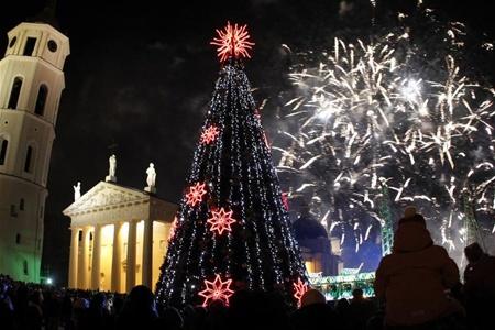 Вильнюс подготовил множество праздничных мероприятий