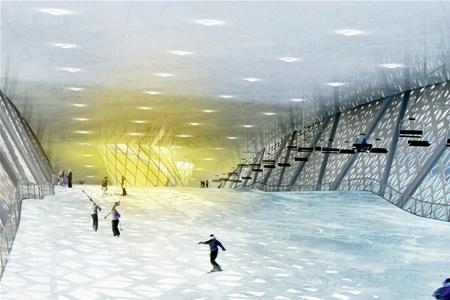 В Дании возведут гигантский лыжный парк