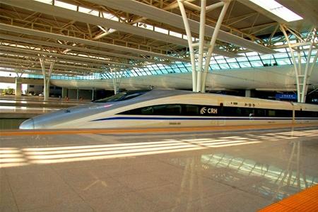 Китай построил самую длинную скоростную железную дорогу