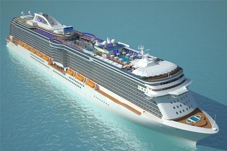Молодым везде у нас дорога: «Princess Cruise» оборудует новый лайнер для юных путешественников