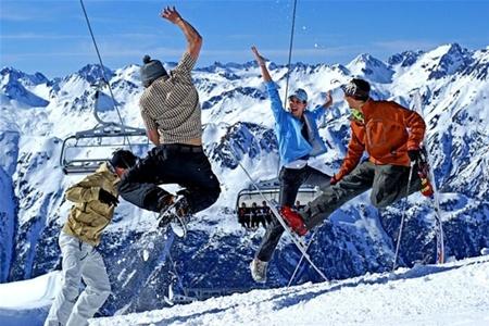 В Греции один за другим открываются горнолыжные центры