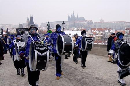 Богемский карнавал пройдет в Праге