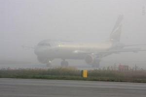 Туман прервал авиасообщение Донецка с Москвой