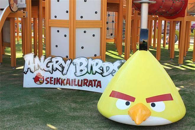 На Канарах открылся парк Angry Birds