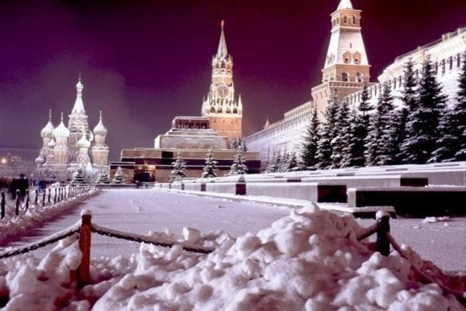 К Новому году в Москве для туристов оборудуют «теплые домики»