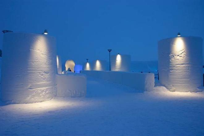 В финском Кеми построят снежный замок