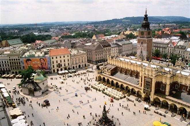 Краков — лучшее туристическое место Европы