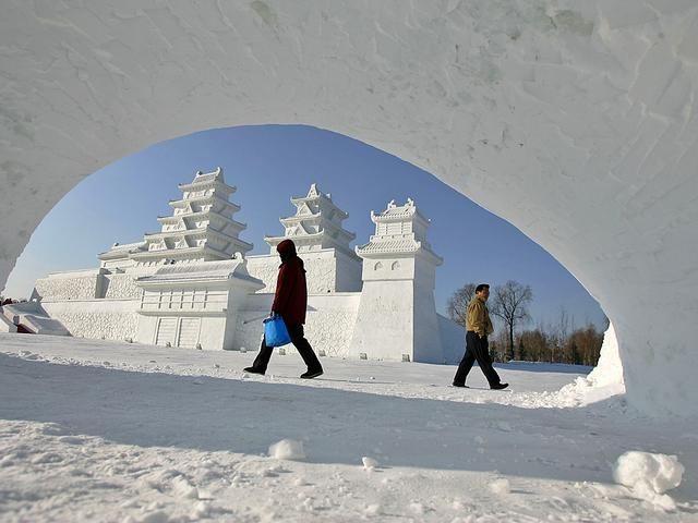 Город изо льда и снега: то, что поистине завораживает