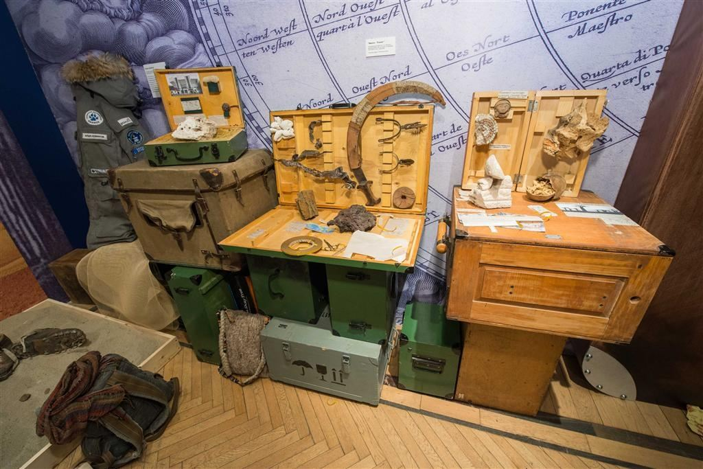 В Московском музее декоративно прикладного искусства предлагают экскурс в историю странствий с XVII до начала XX века