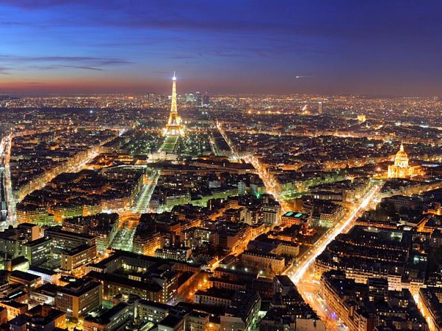 В Париже ввели ограничение на автомобили
