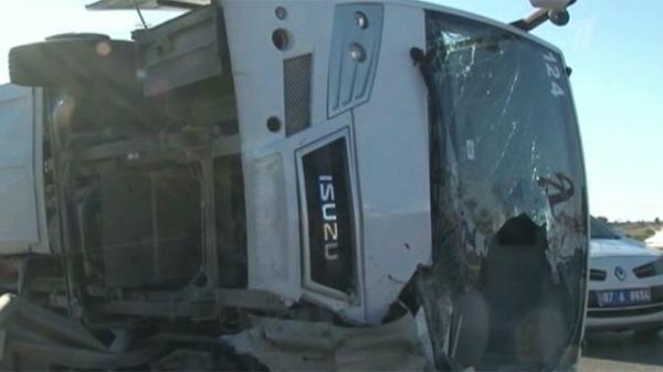 В Турции при крушении автобуса погибла российская туристка