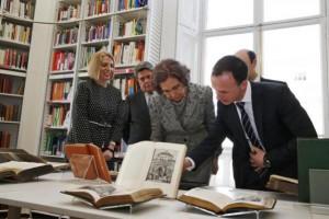 Библиотека в честь испанской королевы открылась в Лондоне