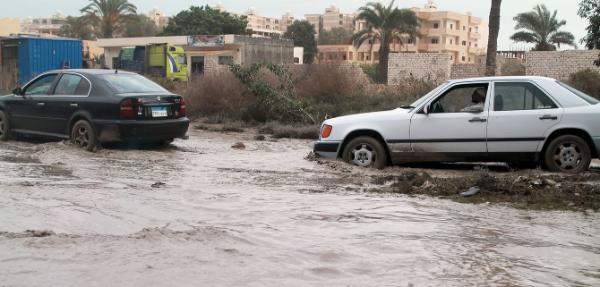 Ливневые дожди затопили Синайский полуостров