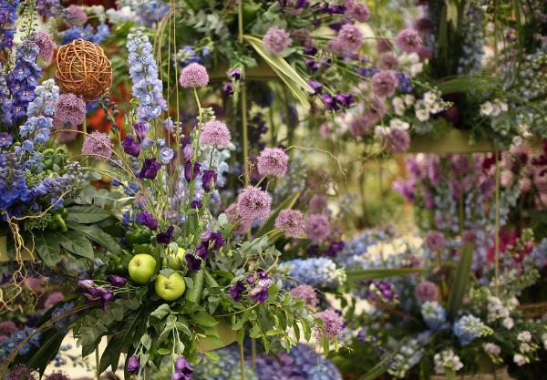 Выставка Chelsea Flower Show открылась в Лондоне