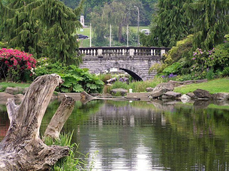 Парк Стэнли — самый большой парк Ванкувера и третий по размеру в Северной Америке