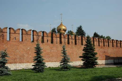 Тульский кремль временно закрыт для посещения из-за благоустройства территории