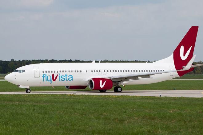 авиакмопания Fly Vista запускает рейс Тбилиси-Киев