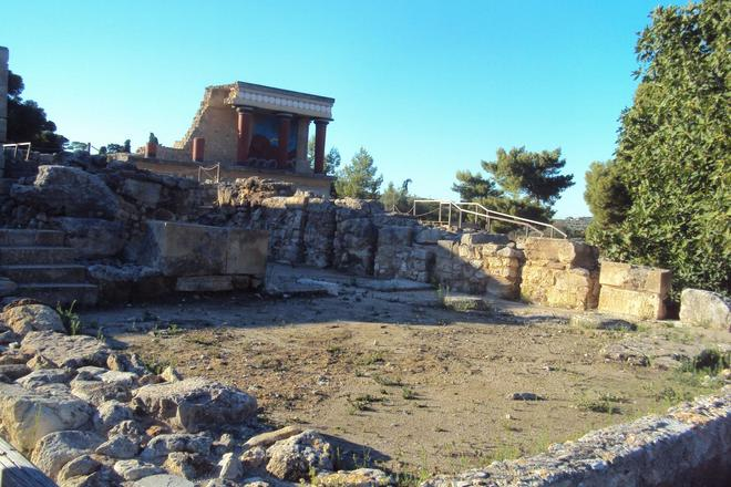 В лабиринте на острове Крит обнаружены новые помещения