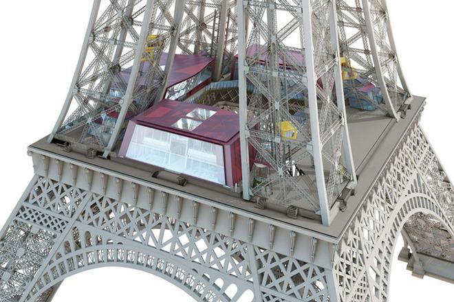 Эйфелевая башня откроет стеклянную смотровую площадку