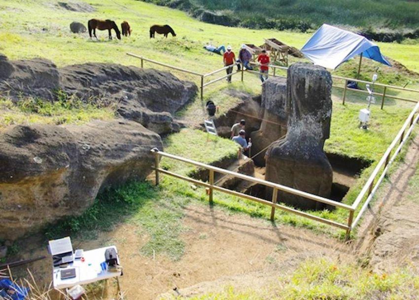 Разгадана еще одна загадка статуй на острове Пасхи