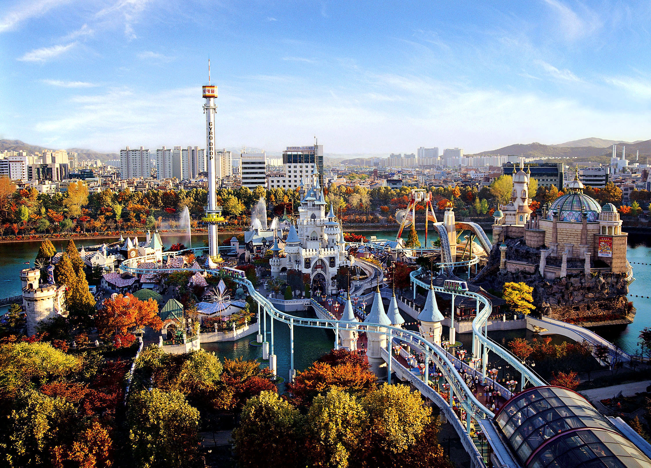 Названы лучшие места для прогулок по Сеулу