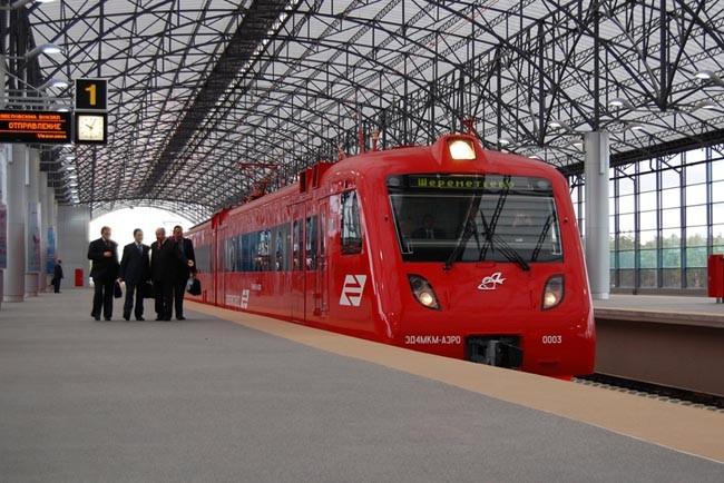 Движение поездов «Аэроэкспресса» в московский аэропорт Шереметьево будет существенно ограничено 29 ноября и 6 декабря
