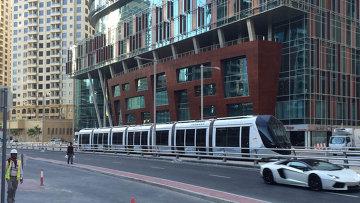 Дубай собирается запустить первый туристический трамвай