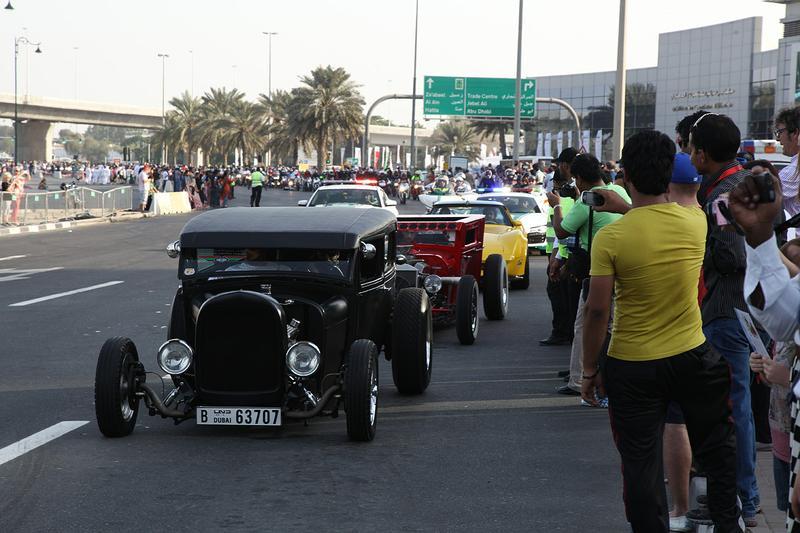 Во время Дубайского автомобильного фестиваля установили несколько рекордов Гиннеса