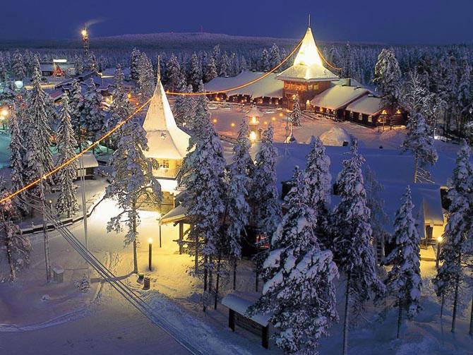 Поток российских туристов в Финляндию в новогодние и рождественские праздники упал на 52%