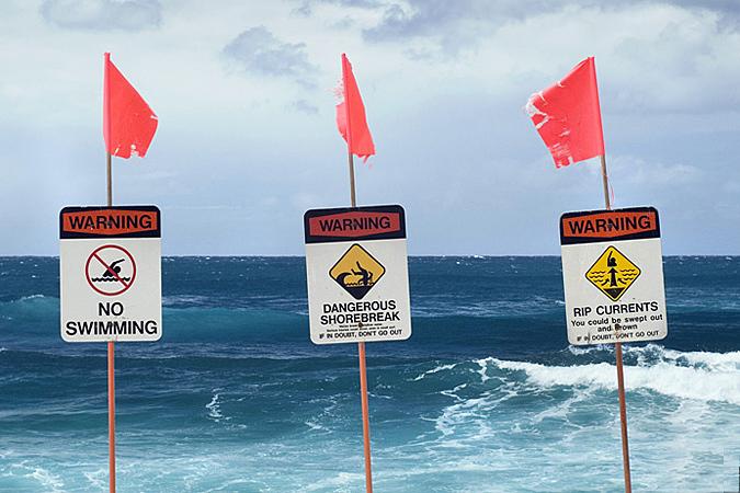 Опасности, которые подстерегают туристов на пляже