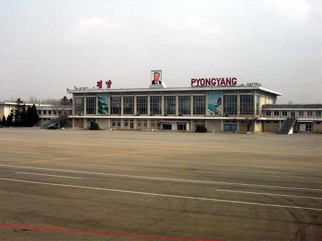 Власти КНДР провели торжественную церемонию открытия нового терминала в международном аэропорту Сунан