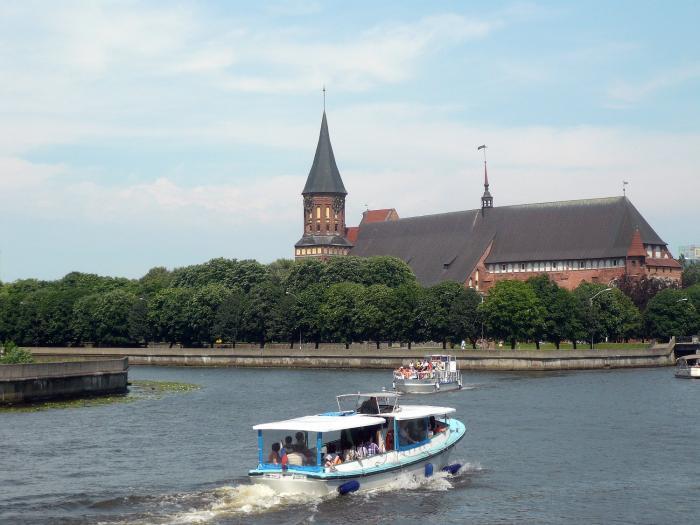 развитие туризма в калининградской области