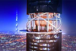 В Дубае построят отель-небоскреб The Rosemont Hotel & Residences, на крыше которого соорудят искусственные джунгли и пляж