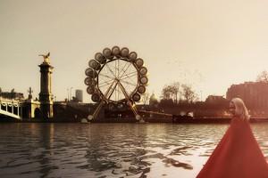 В Париже на набережной Сены построят отель в виде колеса обозрения