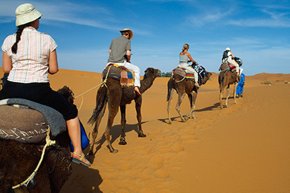 Королевство Марокко в ближайшие два-три года планирует увеличить турпоток из России в десять раз
