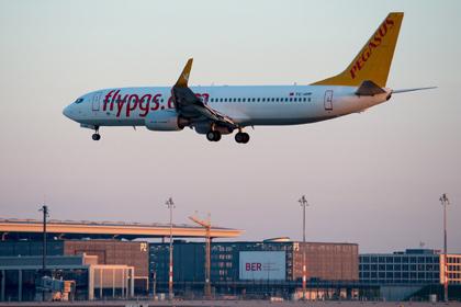 Турецкая авиакомпания Pegasus Airlines до 13 января приостанавливает выполнение рейсов в Россию
