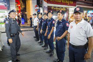 Полиция Паттайи провела акцию с призывом прекратить нападения на туристов